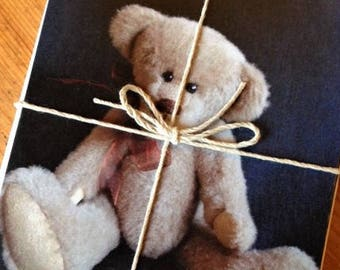 Greeting cards - pack of 5 teddy bear pictures