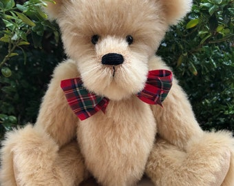 Jock   Collectible artist teddy   Alpaca teddy bear   Bearly Bears