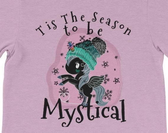 Tis The Season to Be Mystical Christmas Nightmare Unicorn Shirt