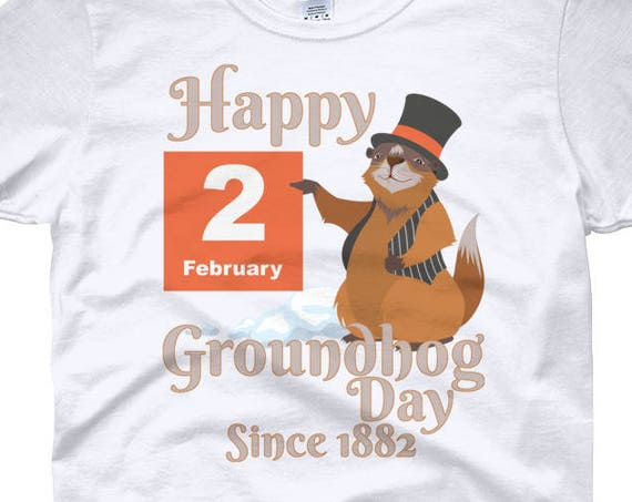 Groundhog Day T-Shirt - Happy Groundhog Day 2018 Women's short sleeve t-shirt