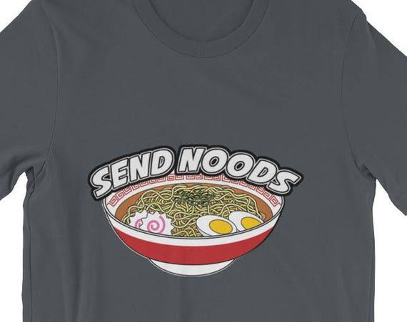 Send Noods Ramen Noodles Short-Sleeve Unisex T-Shirt