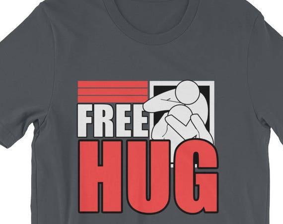 Free Hugs Jiu Jitsu BJJ MMA Wrestling Short-Sleeve Unisex T-Shirt