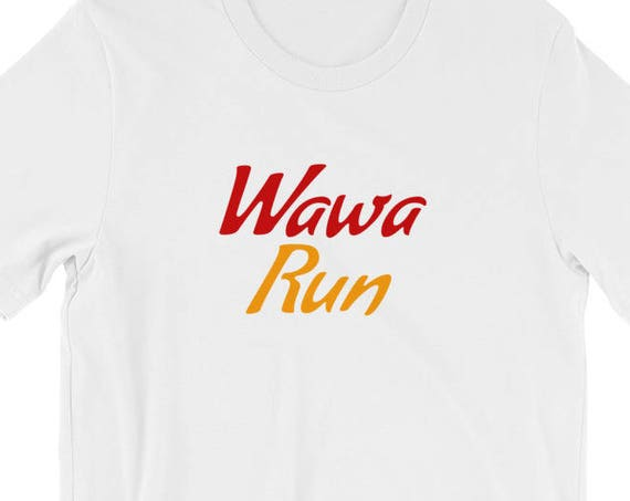 Wawa Convenience Store Run Light Short-Sleeve Unisex T-Shirt