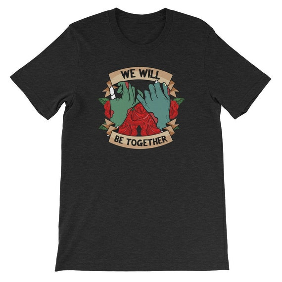 We Will Be Together Until Death Do Us Part Spooky Halloween Couple Uni Sex T Shirt 5B