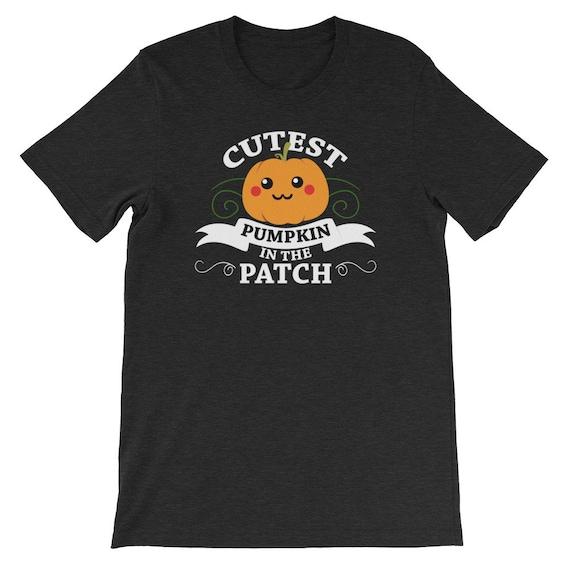 Halloween Cutest Pumpkin In The Patch Jack O Lantern Uni Sex T Shirt 11