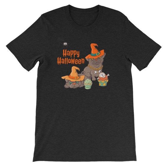 Happy Halloween Funny Cute Dog Pumpkin Witch 02