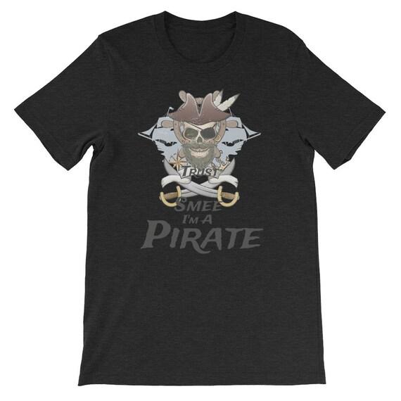 Trust Smee I'm A Pirate Halloween Pirate Day Uni Sex T Shirt 3