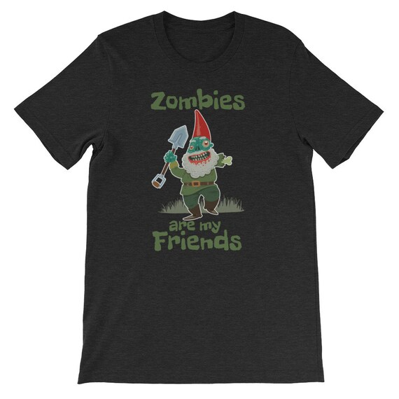 Zombies Are My Friends Halloween Gnome