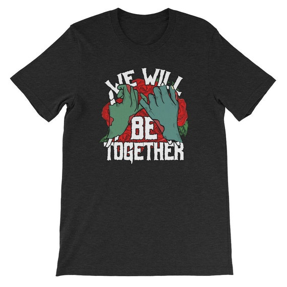 We Will Be Together Until Death Do Us Part Spooky Halloween Couple Uni Sex T Shirt 3B