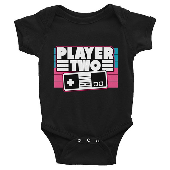 Matching Family Shirt Player 2 Video Game Infant Bodysuit