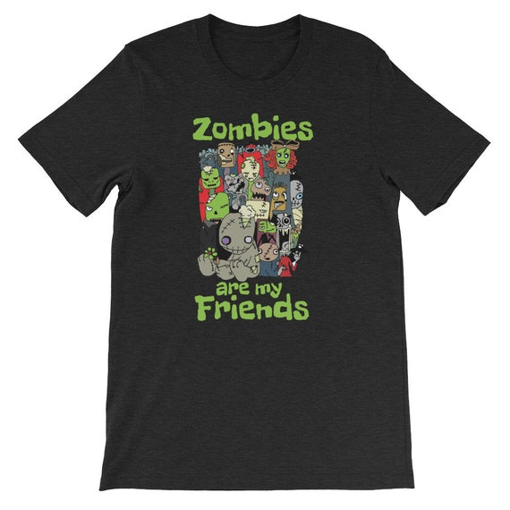 Zombies Are My Friends Gathering Halloween