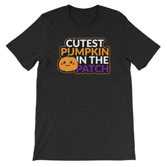 Halloween Cutest Pumpkin In The Patch Jack O Lantern Uni Sex T Shirt 13