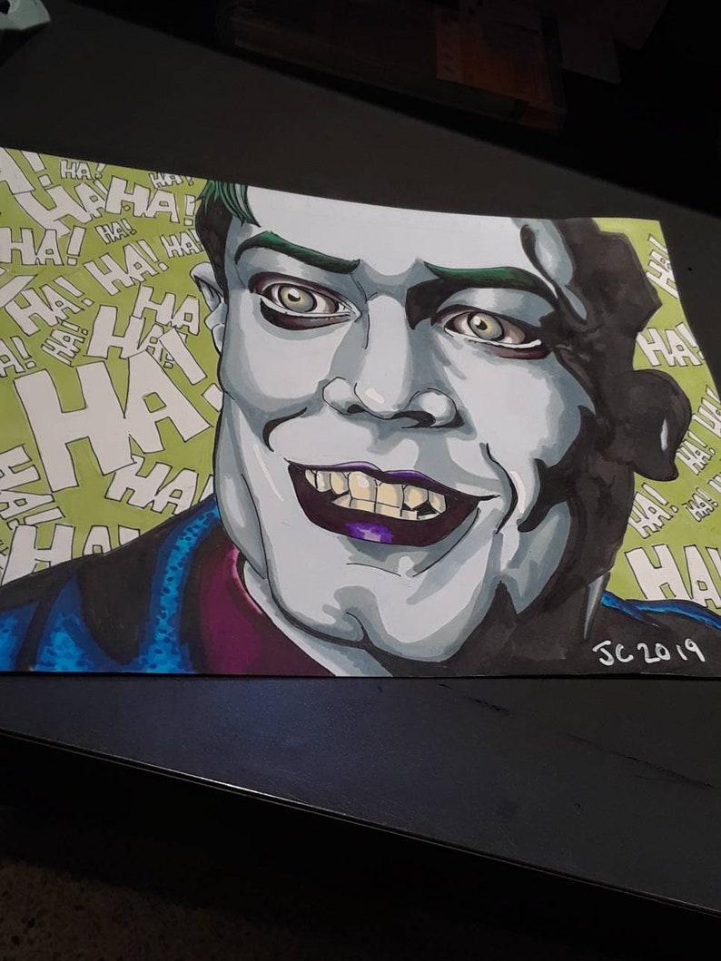 Gotham - Jeremiah Valeska portrait (original)