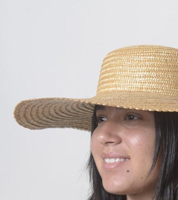 Wide Brim Straw Hat, Beach hat, Sun Hat, Summer h… - image 9