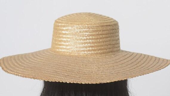 Wide Brim Straw Hat, Beach hat, Sun Hat, Summer h… - image 6