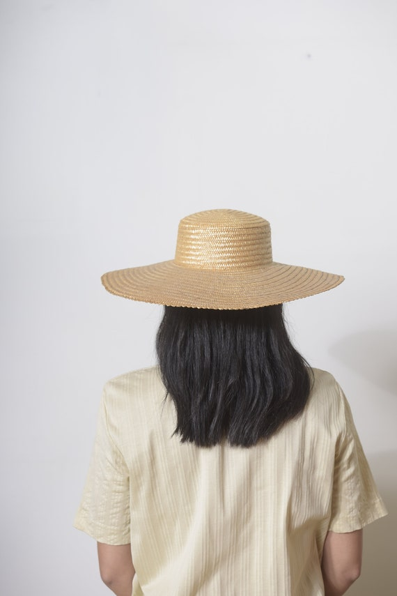 Wide Brim Straw Hat, Beach hat, Sun Hat, Summer h… - image 4
