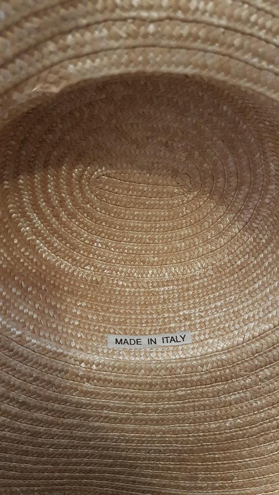 Wide Brim Straw Hat, Beach hat, Sun Hat, Summer h… - image 10