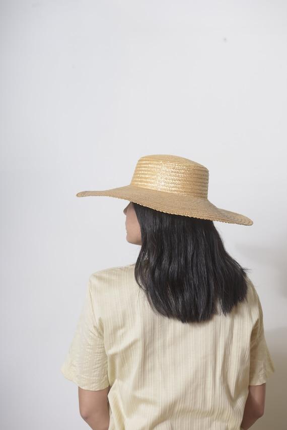 Wide Brim Straw Hat, Beach hat, Sun Hat, Summer h… - image 8