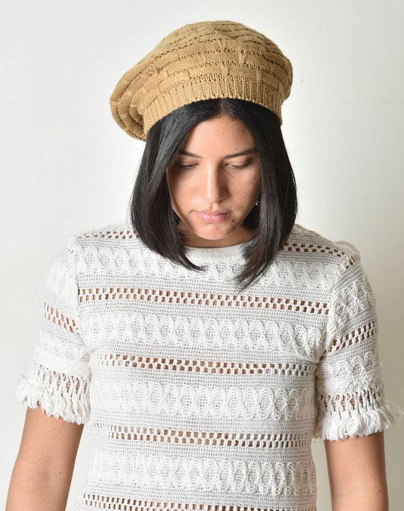 Beret hat, Crochet beret, Beret pattern, Women cr… - image 3