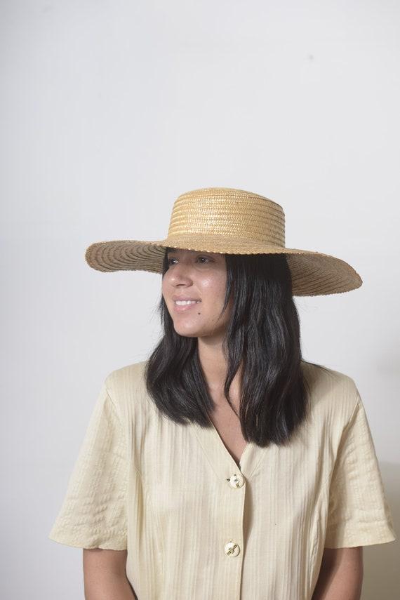 Wide Brim Straw Hat, Beach hat, Sun Hat, Summer h… - image 3