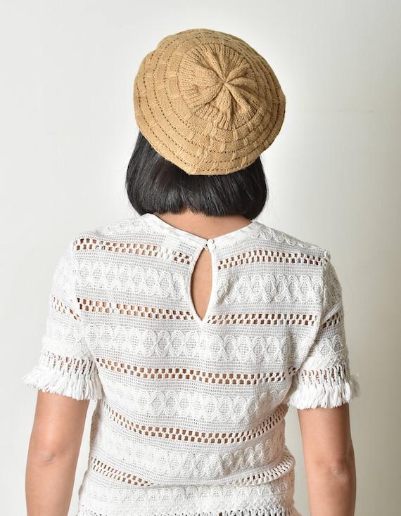 Beret hat, Crochet beret, Beret pattern, Women cro