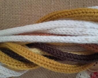 Unusual Scarf knitting wool