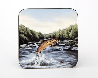 Brown Trout Coaster