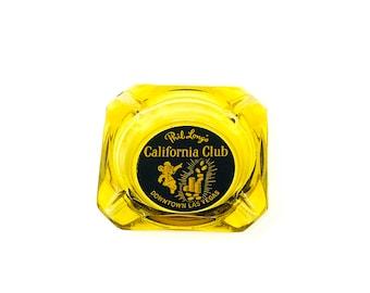 Phil Long's California Club Ashtray - Downtown Las Vegas - Casino Collectibles - California Club - Smoker - Cigarettes - Cigar - Gambling