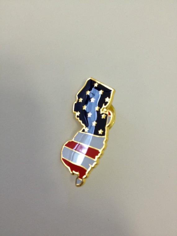 Georgia State colorful lapel pin Nice NEW!!!