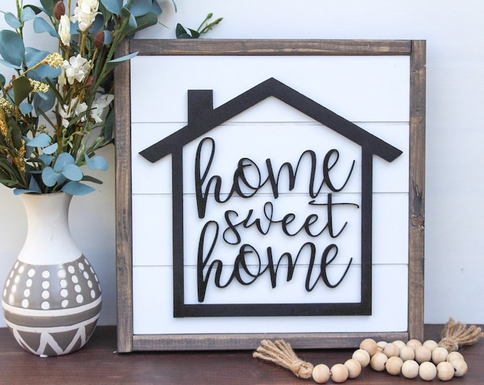 3D Home Signs