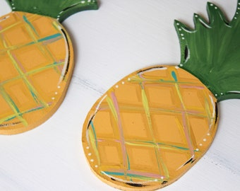 Pineapple interchangeable pieces - home sign