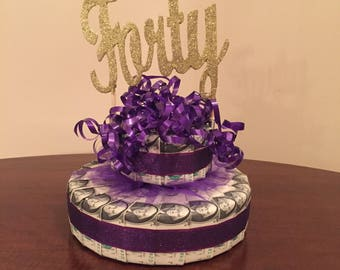 Birthday Money Cake Unique Gift