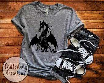 343b213175ff Maleficent Dragon Shirt