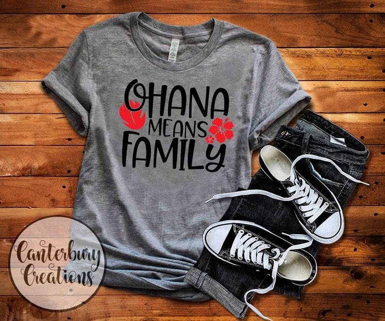 1f8306acdd Ohana means Family Shirt Disney vacation disney disney | Etsy
