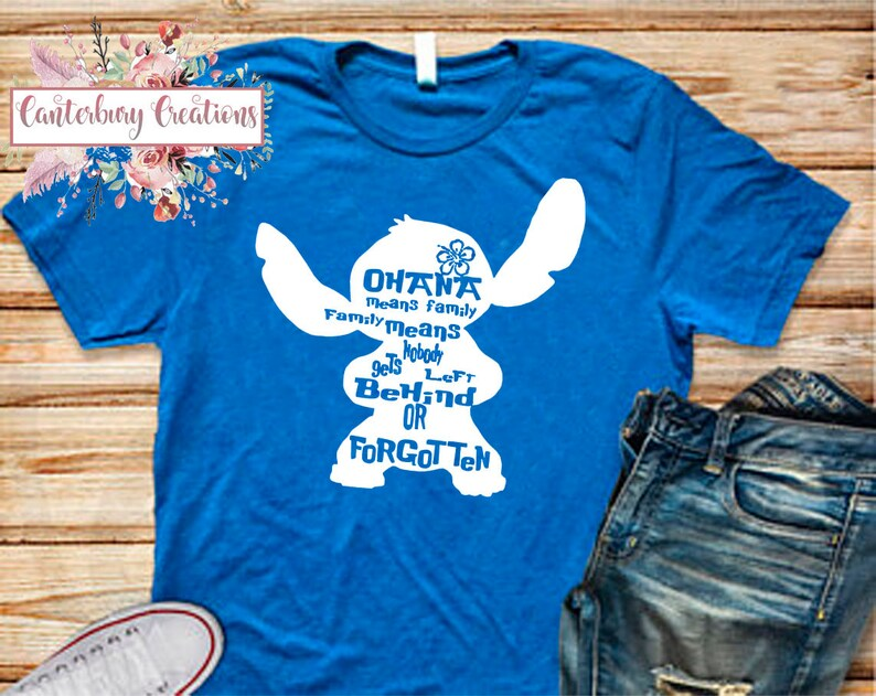 59a3050d2 Stitch Shirt Disney vacation disney disney shirts disney | Etsy