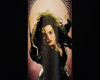 Bellatrix Lestrange Prayer Candle / Saint Candle