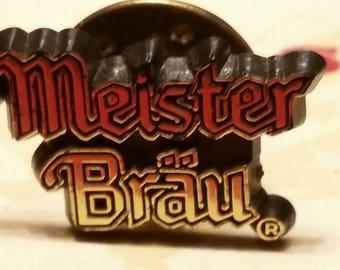 Vintage Meister Brau pin