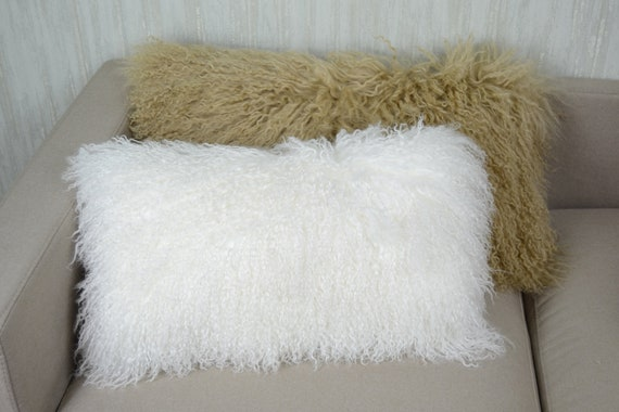 Mongolian Lamb Pillow Cover