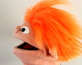 Patrick hand puppet...