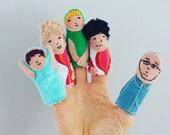 Fingie family - finger pu...