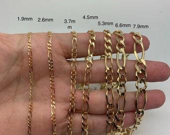 7805626ca707e Figaro bracelet | Etsy