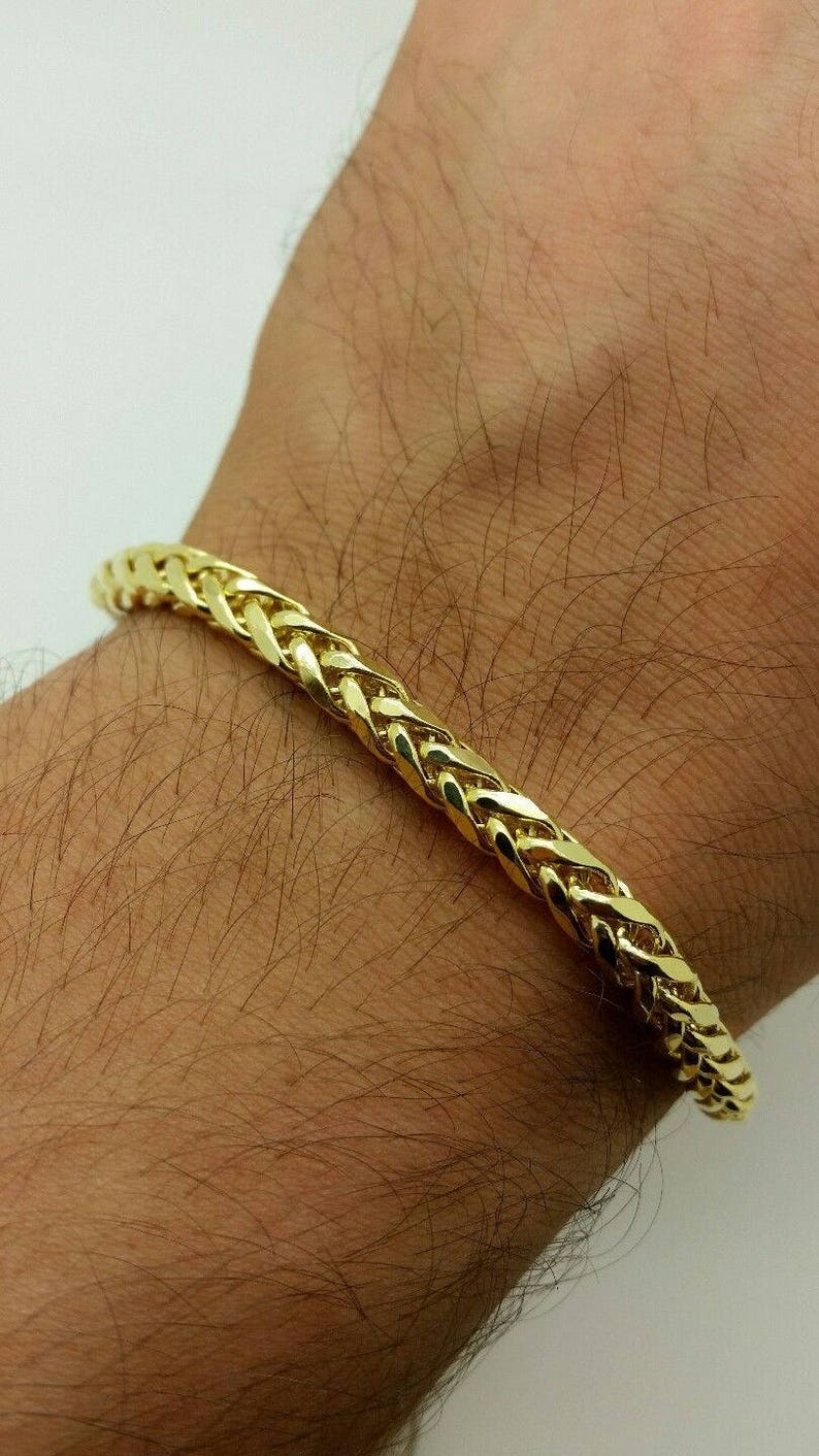 Shop For Cheap 10k Yellow Gold 4.1mm Link Anchor Chain Anklet Ankle Beach Bracelet 7 Inch Fashion Jewelry