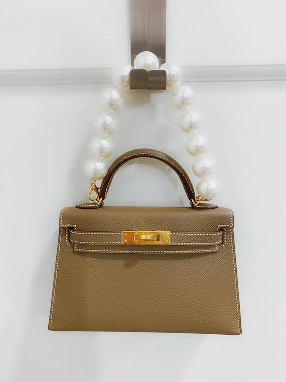 Large Pearl Bag Chain Strap for Handbag  Shoulder Bag 22mm x 30cm