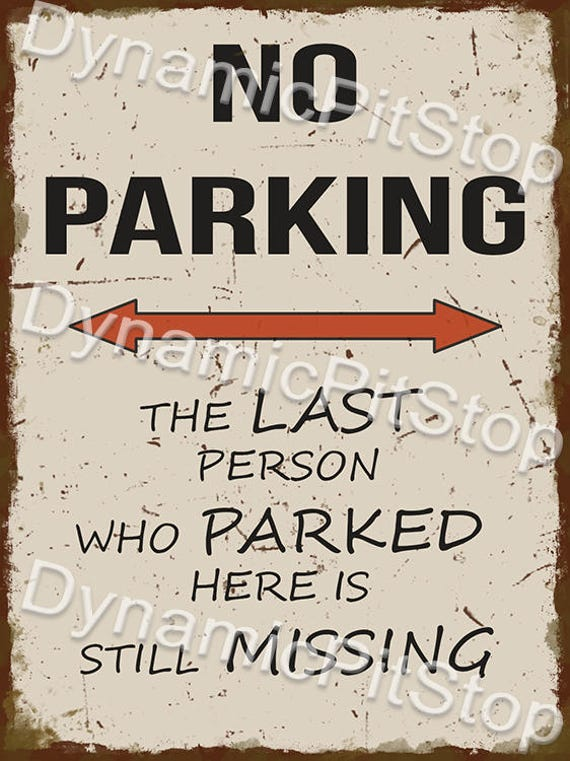 30x40cm Holden Parking Only Rustic Tin Sign or Decal
