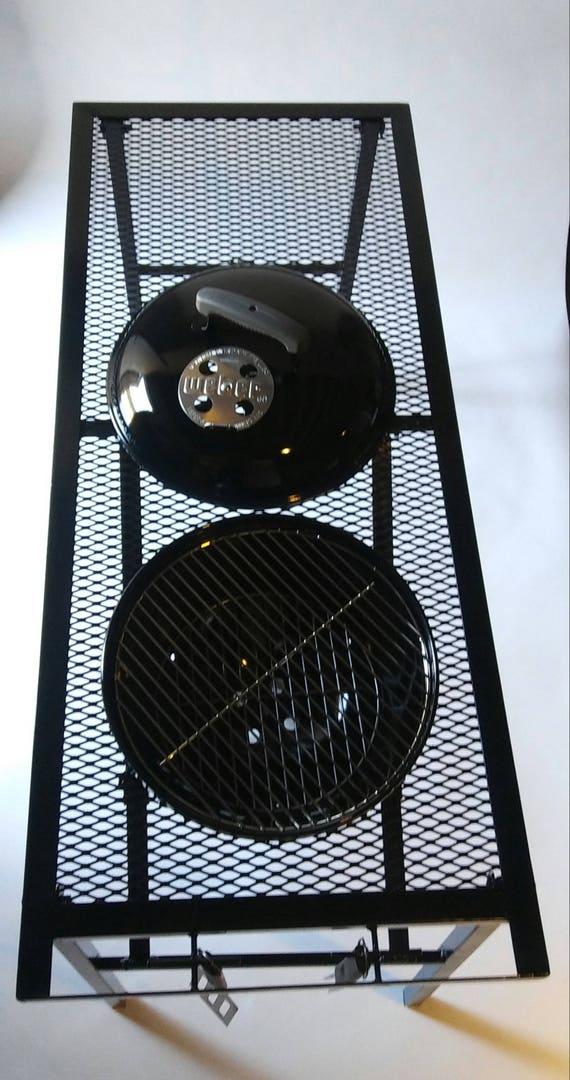 Weber Smokey Joe Table.Portable Grill Table Weber Smokey Joe Etsy