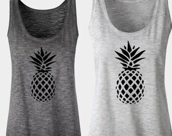Pineapple shirt Pineapple tee shirt Pineapple t shirt for Women Pineapple Tank Top Pineapple Top Tumblr Shirt Fruit Shirt Pineapple clothing