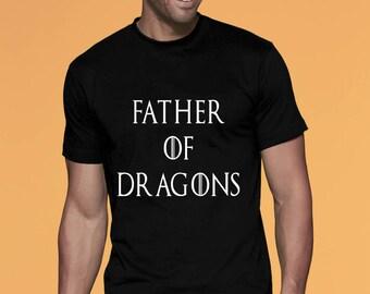 b67b0e36 Father of Dragons Shirt Father of Dragons tshirt Mens Crewneck tShirt  Dragon Shirt Dragon Tshirt Mens shirt