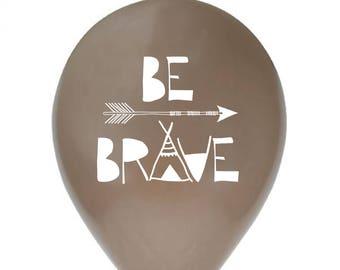 5eb3de248ce7 be brave balloon - Set of 6 - 12 inch   30 cm - party decorations - white