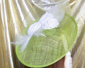 Green percher hat