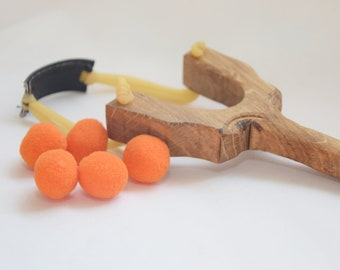 slingshot, slingshot toy, wooden slingshot, wooden outdoor toy, outdoor activity toy, kids toy, handcrafted slingshot, birthday gift